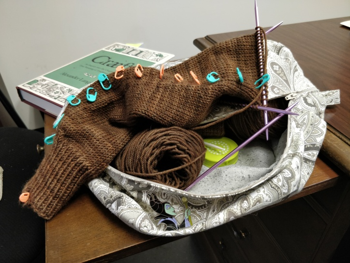 Knitting, Nor'easter cardigan